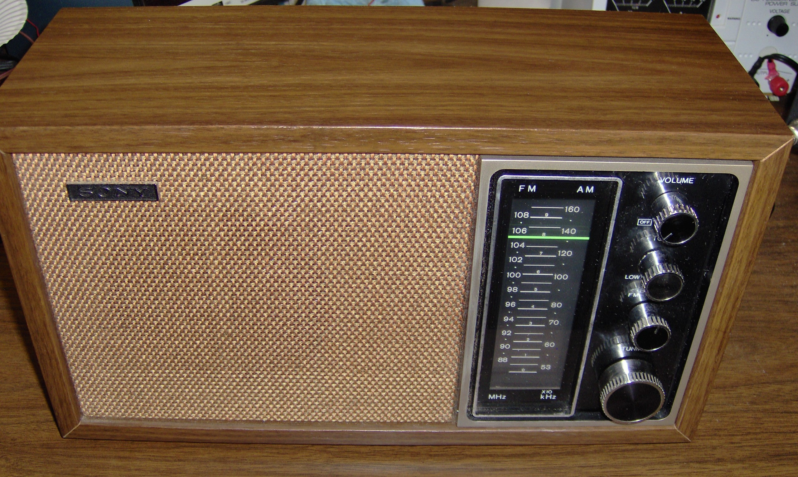 Sony AM-FM radio