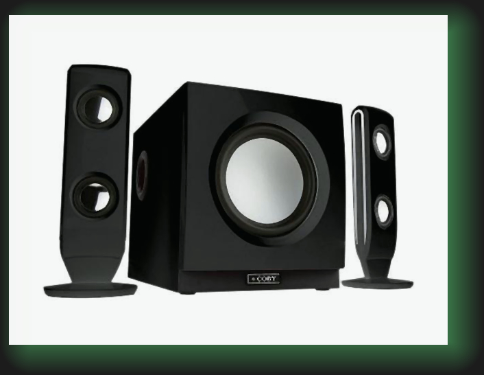 Coby amplified PC speaker system