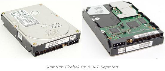 Quantum Series Hard Drives , 6.4 to 20 GB