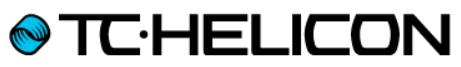 TC Helicon logo (tm)