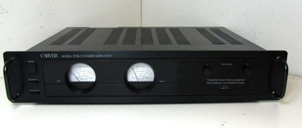 Carver TFM-15 stereo audio amp